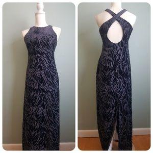Laundry Shelli Segal Cut Velvet Gown